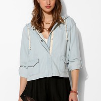 BDG Drapey Hooded Jacket - Urban Outfitters