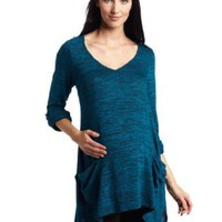 NOM Women's Maternity Harlow Tunic Sweater