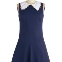 Collar Me a Poetess Dress | Mod Retro Vintage Dresses | ModCloth.com