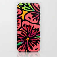 Bold Flora iPhone & iPod Skin by Lisa Argyropoulos | Society6