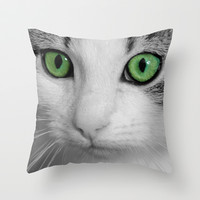 KITTURE Throw Pillow by Catspaws | Society6