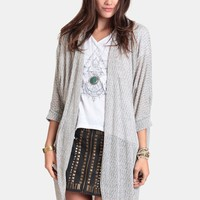 Changing Times Marled Cardigan