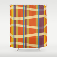 Kimono Sole Shower Curtain by Ramon Martinez Jr