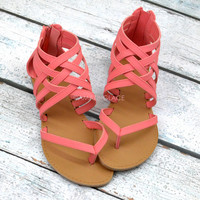 Ashbury Rose Strappy Sandal