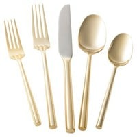 Threshold™ 5 Piece Izon Flatware Set - Gold