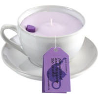 Blackcurrant & Raspberry Herbal Tea Candle - Herbal Tea Candles - Candles - Home Fragrance | Bomb Cosmetics