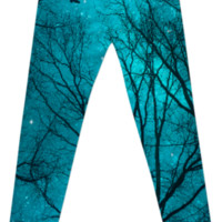 """Stars Cannot Shine Without Darkness"" Printed Leggings (Limited Editio"