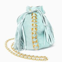 Pierced Bucket Bag in Accessories at Nasty Gal