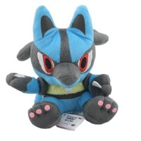 "5.5"" Pokemon Pokedoll Plush Doll USA - Lucario"
