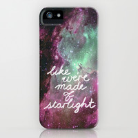 Like We're Made of Starlight iPhone & iPod Case by Tangerine-Tane