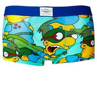 Pull&Bear Trunks with The Simpsons Print