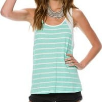 SWELL REVERSE STRIPE TANK TOP