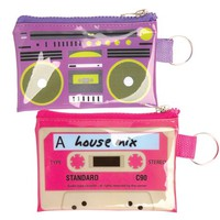 Pop Pouches - Boombox & Cassette Tape Storage Pouch