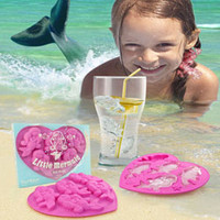 LITTLE MERMAID ICE CUBE TRAY