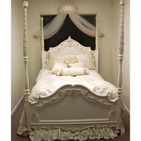 Little Princess Four Poster Bed