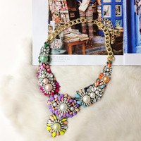 PRE-ORDER: Swept Away to Paris Statement Necklace
