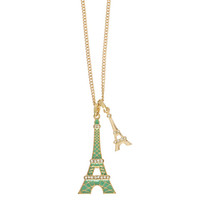 Eiffel Towers Pendant Necklace