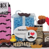 The Mrs. Mustachio unBasket - Women's Mustache Love Gift Basket
