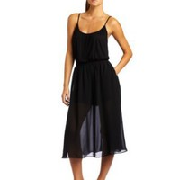 BCBGeneration Women's Sheer Skirt Romper