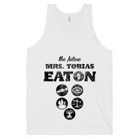 The Future Mrs Tobias Eaton on a White Tank Top