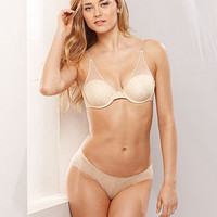 DKNY Fusion Lace Custom Lift Convertible Bra and Bikini