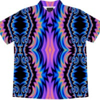 Psychedelic Tribe - Ladies' Blouse @ Print All Over Me