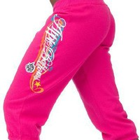 Apple Bottoms Fleece Active Pant Pink M