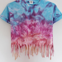 Tees To Dye For — Winter Rainbow Twist (pre-order 1-2 working days)