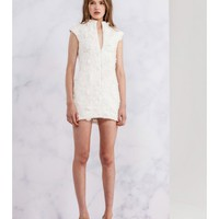 CAMEO We Have Love Dress WHITE