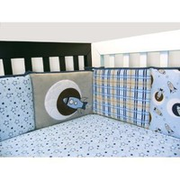 Rockets Space Crib Bedding Set
