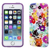 Speck CandyShell Inked Cell Phone Case for iPhone 5/5s - White/Purple (SPK-A2798)