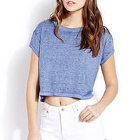 Fresh Mineral Wash Cropped Tee