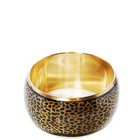 Papaya Clothing Online :: A LEOPARD PRINTED BANGLE BLACELET