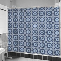 Veracruz Blue Shower Curtain