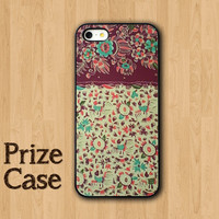 Vintage Batik Floral Phone Case, Samsung Galaxy S4, iPhone 5 Case, iPhone 5S, iPhone 5C, Personalized Covers, Flower Theme Cases, Old Covers