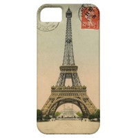 Eiffel Tower Postcard Galaxy s5 Phone Case