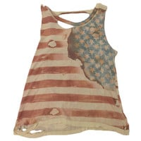 Americana Muscle Tank by Chaser - FINAL SALE | SHOPLUNAB
