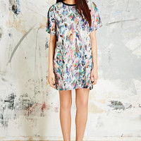 Textile Federation Lucid Liquid T-Shirt Dress - Urban Outfitters