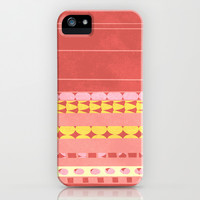 orange iPhone & iPod Case by spinL