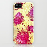 VINTAGE FLOWERS XIV - for iphone iPhone & iPod Case by Simone Morana Cyla