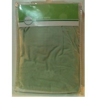 Circo Crib Dust Ruffle Green