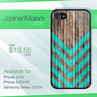 Geometric Wood mint case, wood iphone case, iphone 4 case iphone 5c case, samsung gaxaly S3 case, samsung gaxaly S4 case