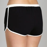 Only Hearts So Fine Gym Shorts Black 51151 at Largo Drive Underwear & Swimwear