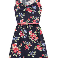 Fresh Floral Print Dress (Kids)