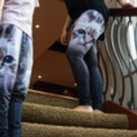 Carrie's Closet - MEOW cat leggings