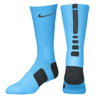 Nike Hyper Elite Basketball Crew Socks - Men's at Eastbay