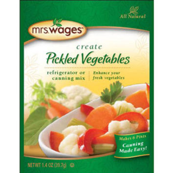 Mrs. Wages® Pickled Vegetables Refrigerator or Canning Mix 2-Pak