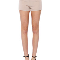 Papaya Clothing Online :: ZIP HIGH WAIST SHORTS