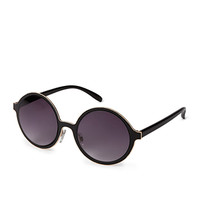 F7916 Cool Girl Round Sunglasses