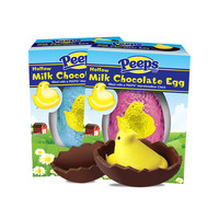 PEEPS & Company : 3 OZ. YELLOW PEEPS CHICK IN CHOCOLATE EGG